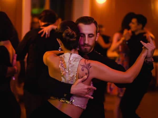 Csongor Kicsi at a tango marathon