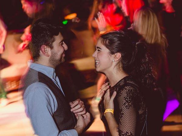 In a tango festival