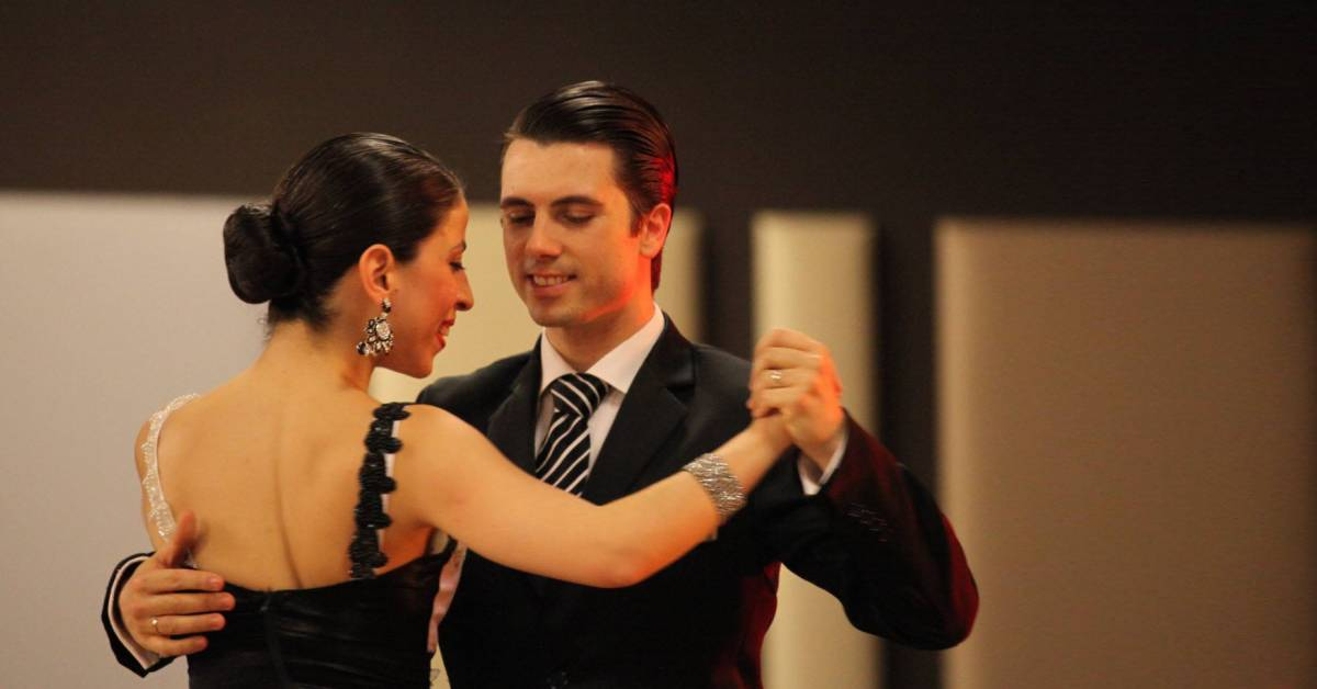 Tango musicality explained by Vaggelis Hatzopoulos and Marianna Koutandou