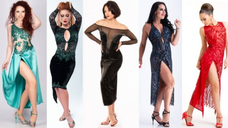 Mimi pinzon tango dresses